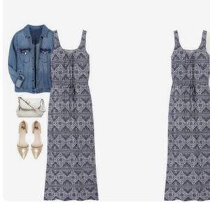 Stitch Fix Loveappella Maxi dress - Grey - Small